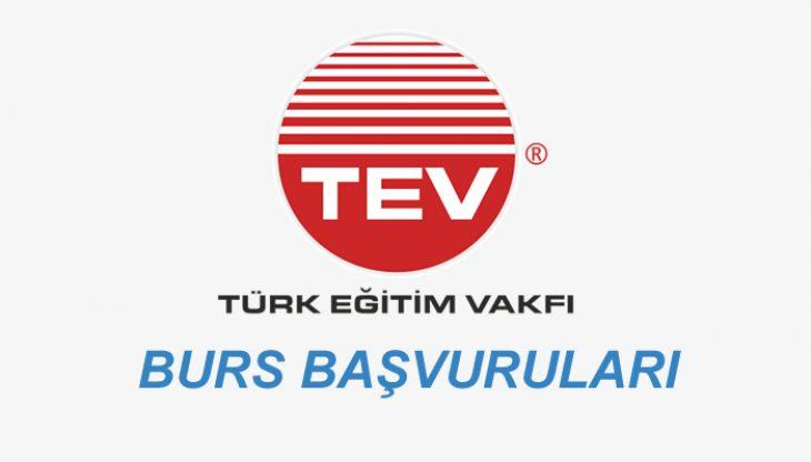 TEV(TÜRK EĞİTİM VAKFI) Burs Başvuruları 2 Eylül'de Başlıyor!