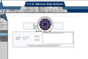 Güncellendi: YTÜ 2018-2019 Bahar Yarıyılı Ders Seçim-Kayıt Tarihleri Açıklandı!
