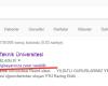 Google'dan YTÜ (yildiz.edu.tr) Resmi Sitelerine Zararlı Yazılım Uyarısı!