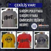 Çekiliş Var! Ücretsiz YTÜ Tişörtü Kazanma Şansı!