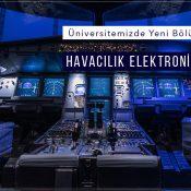 Yıldız Teknik Üniversitesi'nde Havacılık Elektroniği Bölümü Açıldı!