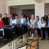 Yıldız Teknik Üniversitesinden Nusaybin'e Bilgisayar Laboratuvarı