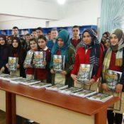YTÜ'den Erciş'teki '101 Okul 101 Kütüphane' Projesine Kaynak Kitap Desteği