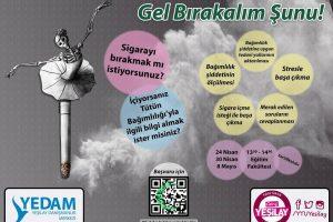 YTÜ Yeşilay Kulübü: Sigara Bağımlılığı Eğitimi