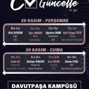 CV'ni Güncelle (29-30 Kasım 2018)