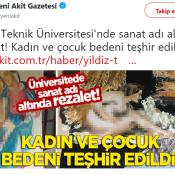 Yıldız Teknik Üniversitesi Sanat Sergisindeki O Eserler Çok Konuşuldu!