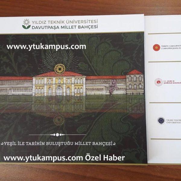 Yıldız Teknik Üniversitesi Davutpaşa Kampüsü'ne, Millet Bahçesi Projesi!