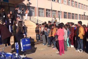 YTÜ Çocuk ve Eğitim Kulübü ile Yeşilay Kulübünden Köy Okullarına Yardım!