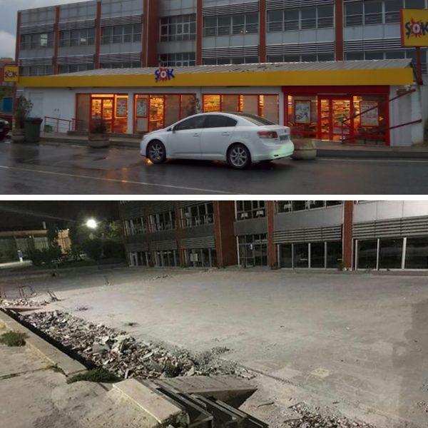 YTÜ Davutpaşa Kampüsü'ndeki Şok Market kapatıldı! Yerine ne yapılacak?