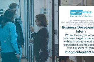 Mentor Effect, Business Development Intern