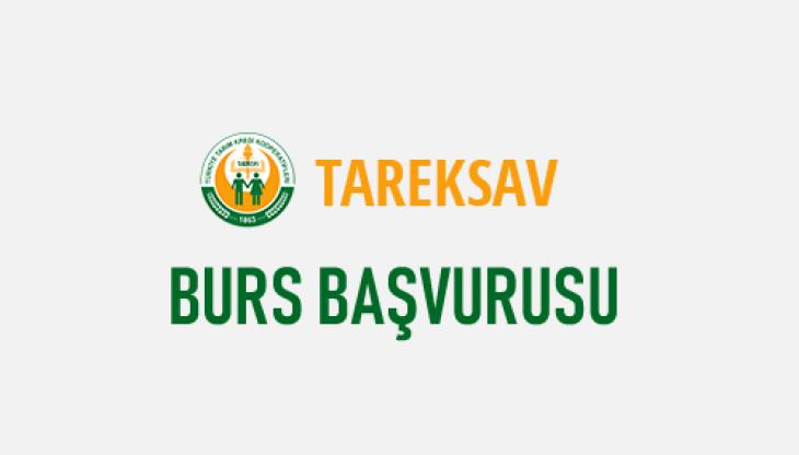 TAREKSAV Burs Başvurusu (2019-2020) Başladı!