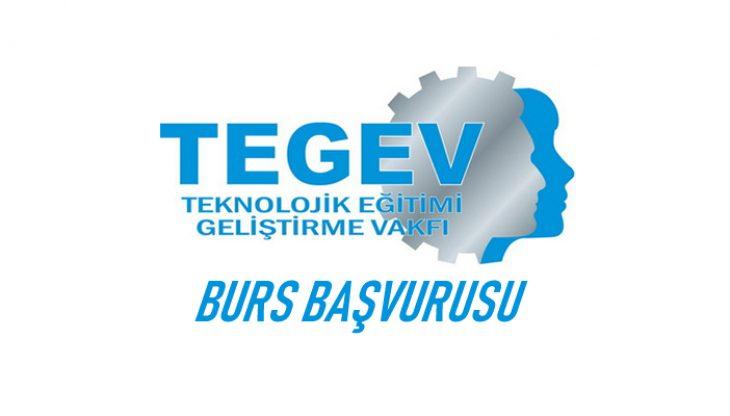 Teknolojik Eğitim Geliştirme Vakfı TEGEV Burs Başvurusu (2019-2020) Başladı!