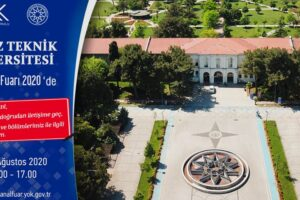 """Yıldız Teknik Üniversitesi, YÖK Sanal """"Üniversite Tanıtım"""" Fuarında!"""
