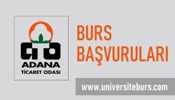 Adana Ticaret Odası (ATOSEV) Burs Başvurusu Başladı!