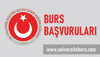 TDK Burs : Atatürk Kültür, Dil ve Tarih Yüksek Kurumu Bursu