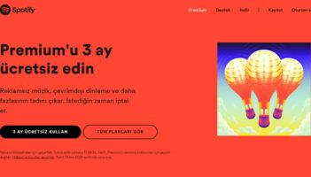 Spotify Premium İlk 3 Ay Ücretsiz!
