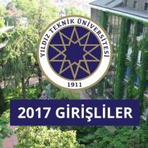 Yıldız Teknik Üniversitesi 2017 Girişliler grup logosu