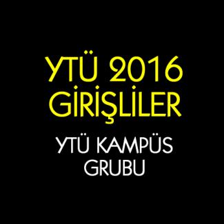 YTÜ 2016 Girişliler grup logosu